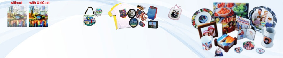 Unicom Technology Solutions » Sublimation Coating and Pre-treatment